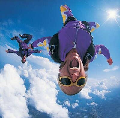Хочу прыгнуть с парашюта!!!!