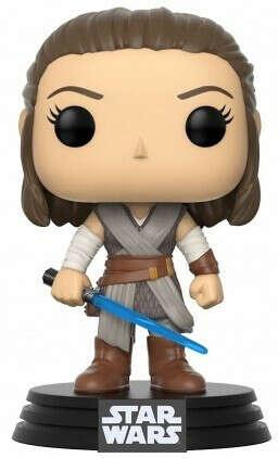 Фигурка Funko POP: Star Wars Episode VIII The Last Jedi – Rey Bobble-Head (9,5 см)