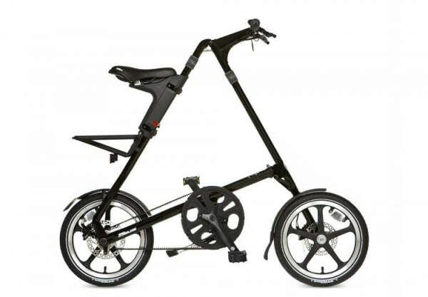 Складной велосипед Strida LT матовый черный