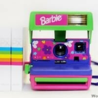 Polaroid Barbie