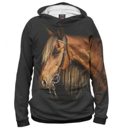 Худи с лошадкой))