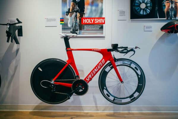 Разделочный велосипед