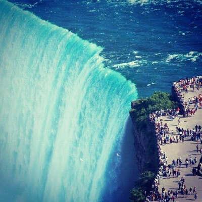 Побывать на водопаде Ниагара