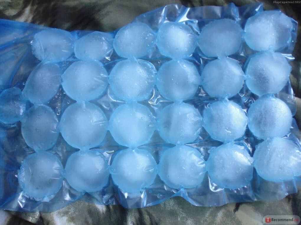 Много пакетов для льда