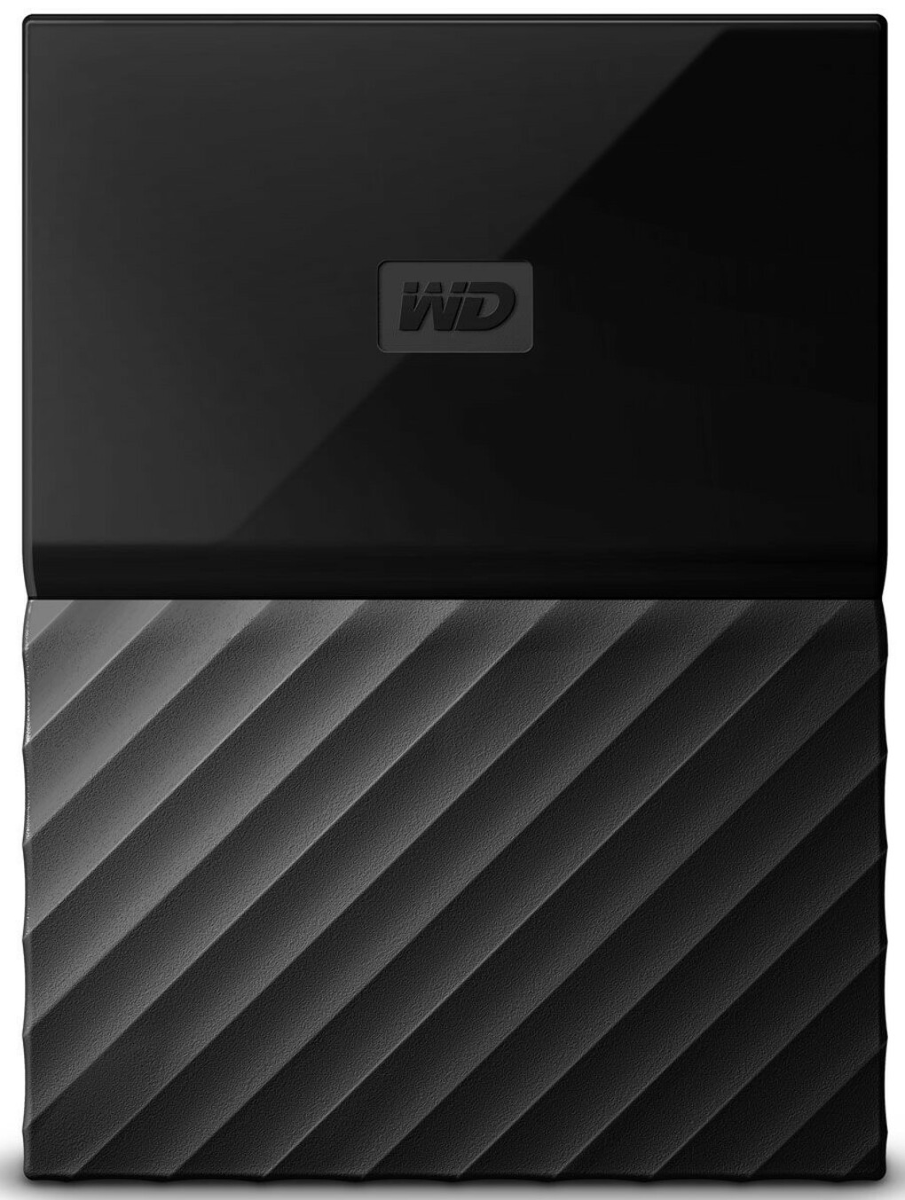 WD My Passport 1TB, Black внешний жесткий диск
