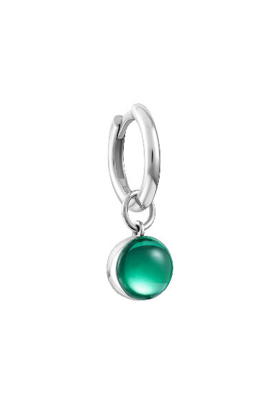 Моносерьга Avgvst Jewelry Зеленая
