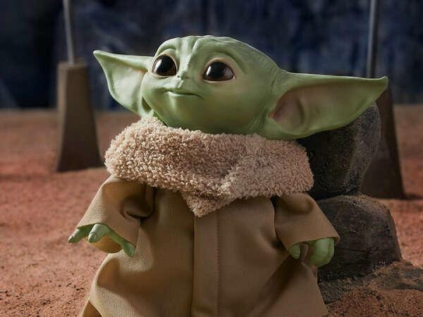 Игрушка Baby Yoda