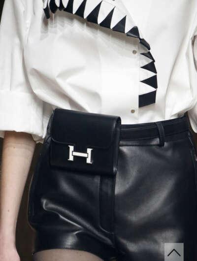 Сумка на пояс Hermès