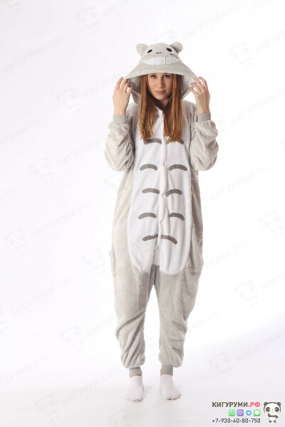 Купить кигуруми тоторо: пижама-кигуруми totoro в Москве | Интернет-магазин Кигуруми Москва