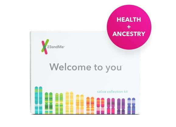 Тест ДНК от 23andme