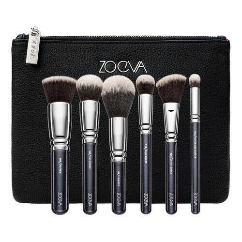 Zoeva PROFESSIONAL BRUSH SET VEGAN FACE Набор кистей для макияжа в косметичке купить по цене от 5947 руб в интернет магазине SEPHORA   370981