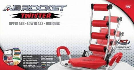 Тренажер для пресса AB Rocket Twister
