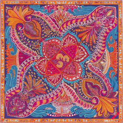 Мир платков Hermès   Le Jardin de la Maharani