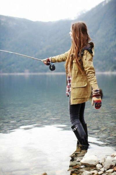 Научиться рыбачить