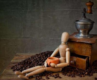 Гестальта - деревянная фигурка человечка