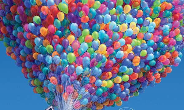 Много воздушных шариков^^