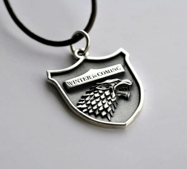 Медальон из сериала Game of Thrones