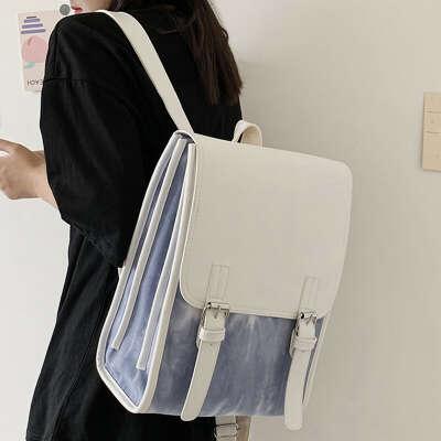 Модный женский рюкзак из искусственной кожи