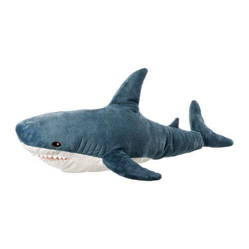 Подушка-акула из икеи!