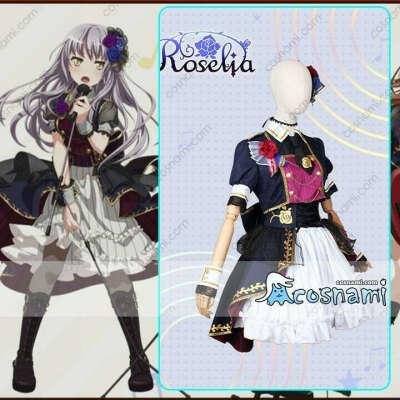 BanG Dream! バンドリ 7th☆LIVE Roselia 湊友希那 コスプレ衣装 コスチューム cosplay 送料無料