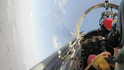 Полет на истребителе Л-29
