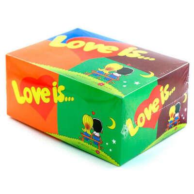 """Получить в подарок пачку жевачек Love is — """"Mix"""""""