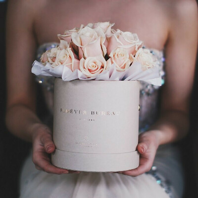 коробку цветов