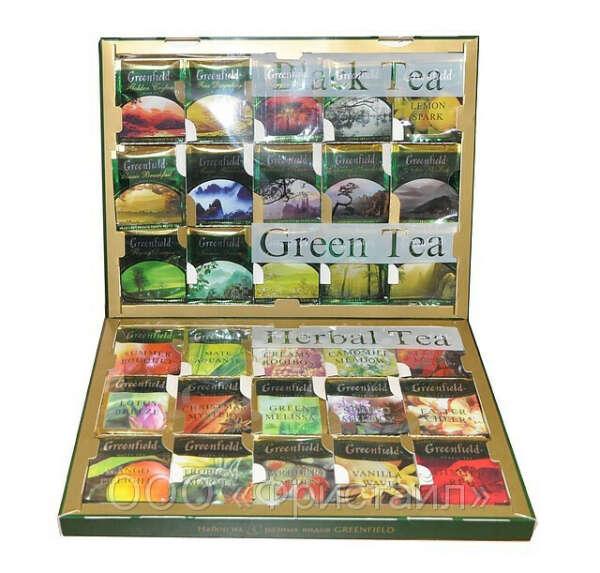 Подарочный набор чая «Greenfield»