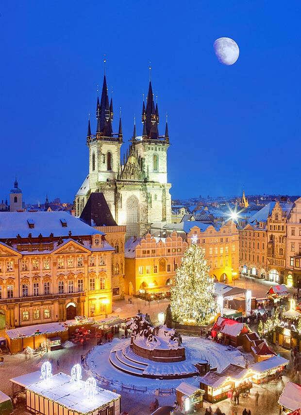 В Прагу на Рождество