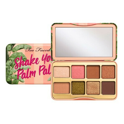 Too Faced PEACHES AND CREAM ON THE FLY SHAKE YOUR PALM Палетка теней в мини-формате