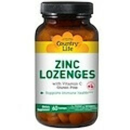 Country Life, Zinc Lozenges with Vitamin C, Cherry, 60 Lozenges