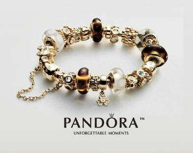 PANDORA | Серебряные и золотые подвески-шармы для браслетов