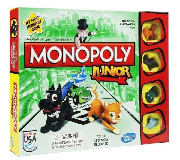 Монополия: Junior (Monopoly Junior)