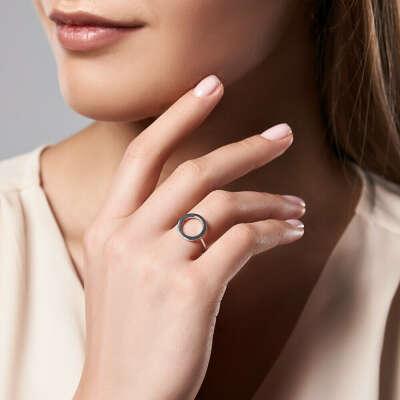 Кольцо Minimal Silver