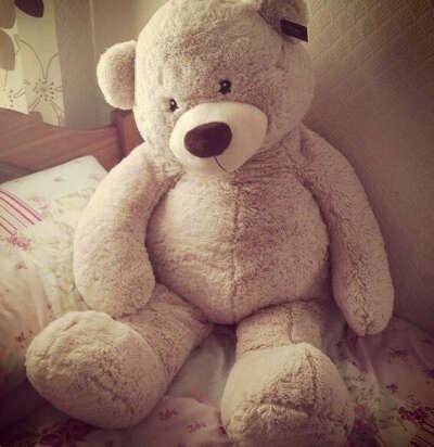 Хочу большого медведя <3