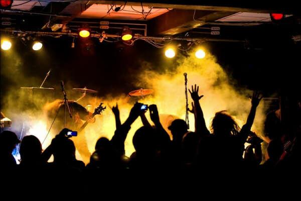 На рок-концерт