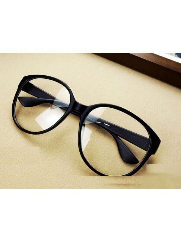 Очки с прозрачными стеклами