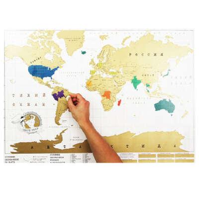 Карта Мира 'True-Map' Ver.2