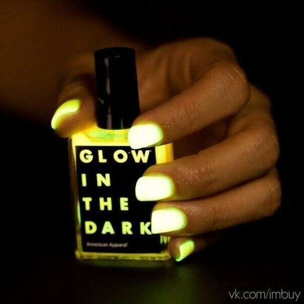 """Лак """"Glow in the dark"""""""