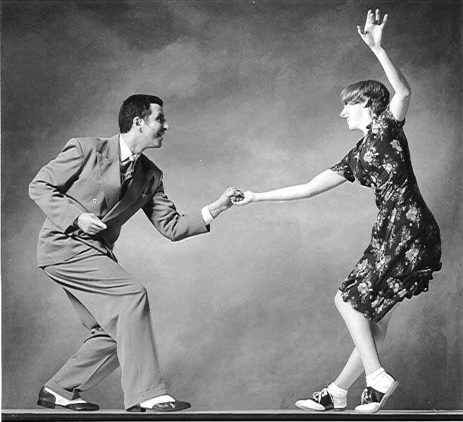 Сходить на первое соревнование по свинговым танцам