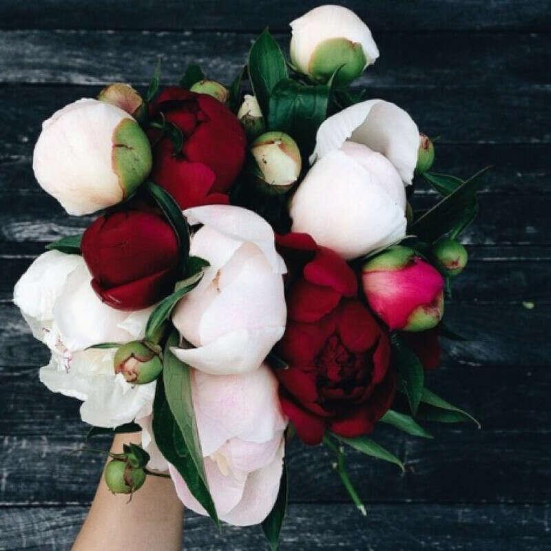 Букет цветов без повода:) *