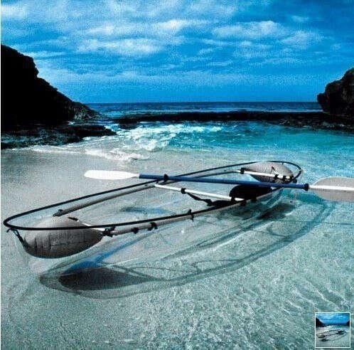 Прозрачную лодку
