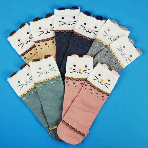 Набор из 5-ти пар носков Meow