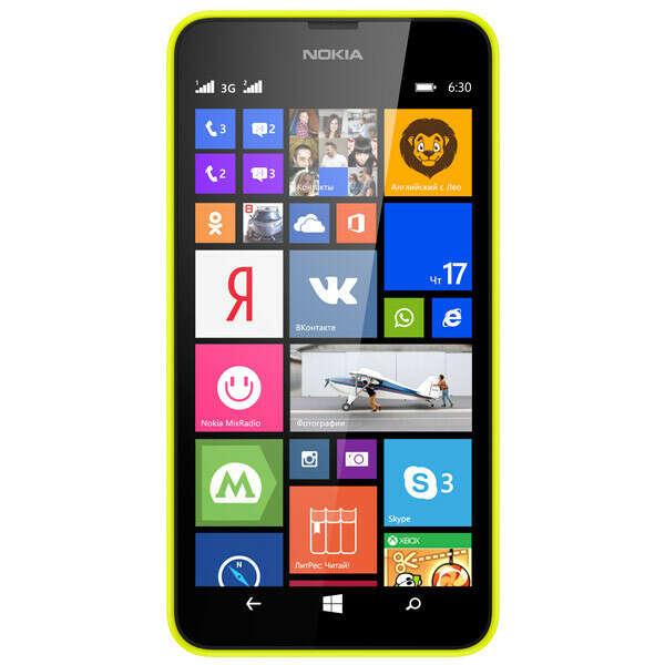 Nokia Lumia 630 DS Yellow