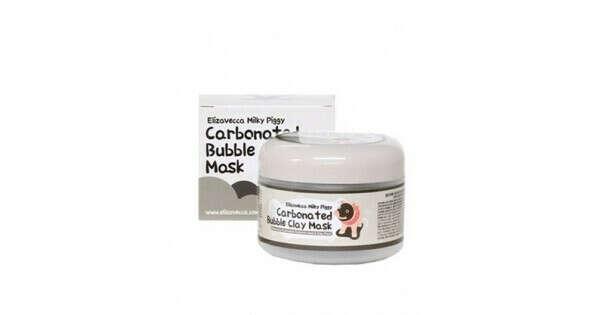 Кислородная глиняная маска Elizavecca Carbonated Bubble Clay Mask