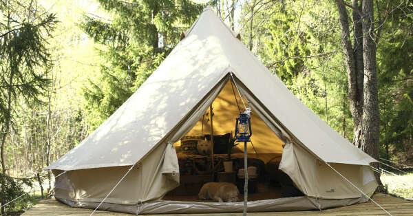 Soul Camp комфортный кемпинг на берегу лесного озера