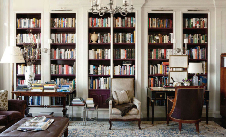Прочесть все книги из домашней библиотеки