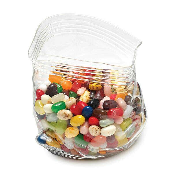 Стеклянный пакет для конфет