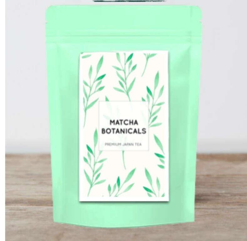 Мача чай и бамбуковый венчик