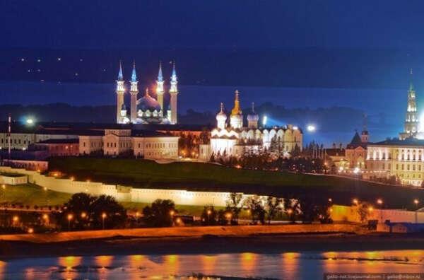 Поехать в Казань